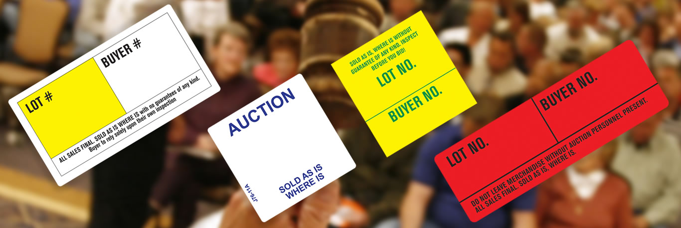 Auction Labels