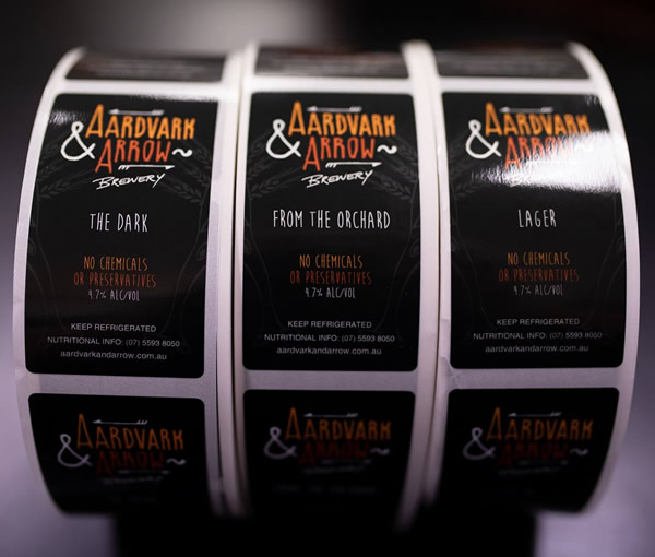 Aardvark Arrow Labels