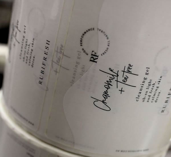 Bath & Body Labels - Rubifresh