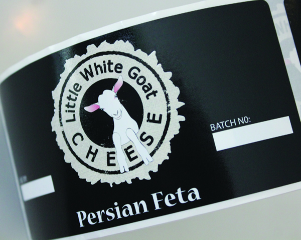 Cheese Labels - Little White Goat