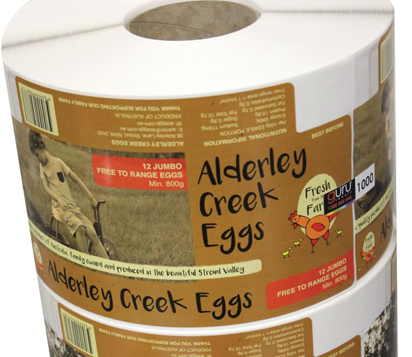 Egg Carton Labels - Alderley Creek Eggs