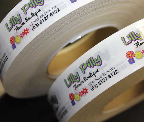Clear Labels - Lily Pily Flower Boutique