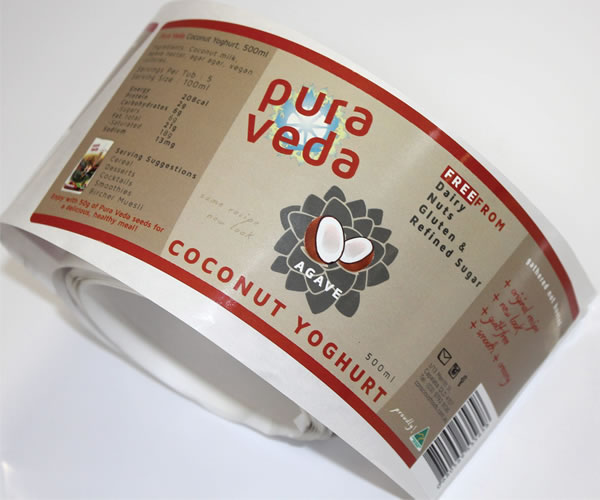 Freezer Labels - Pure Veda