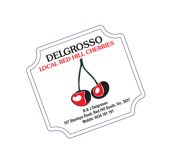 Fruit & Vegetable Labels - Delgrosso