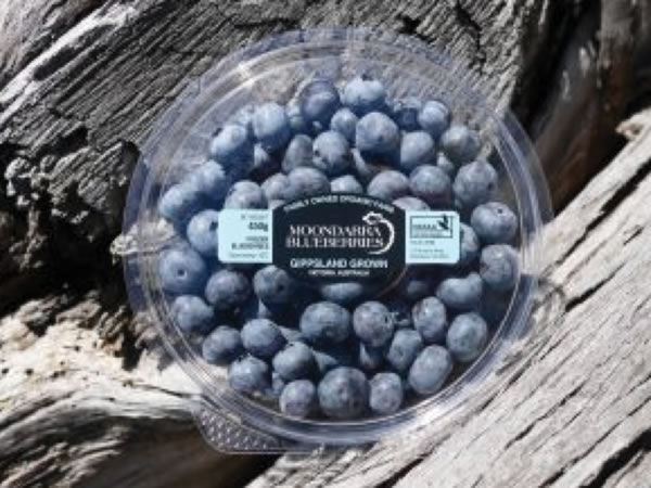 Fruit & Vegetable Labels - Moondarra Blueberries