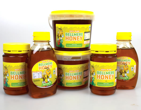 Honey Labels - Bellmere Honey