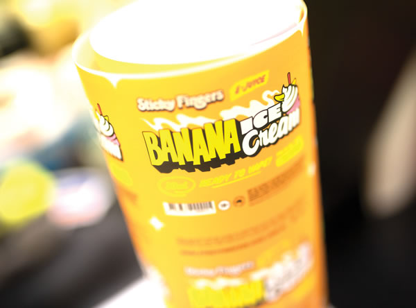 Synthetic Labels - Sticky Fingers Banana