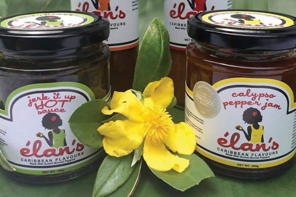 Chilli Labels - Elans Carribbean Flavours