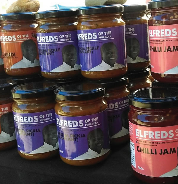 Chilli Labels - Elfreds of the Penisular