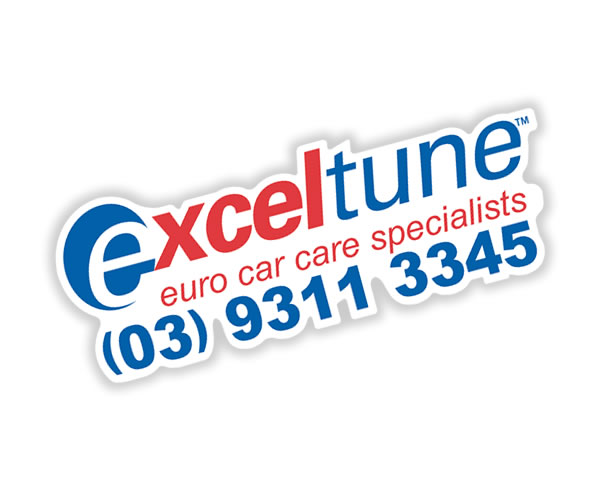 Rear Window Labels - Exceltune Euro Car Care
