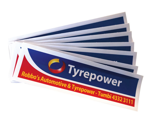 UV Stable Labels - Tyrepower