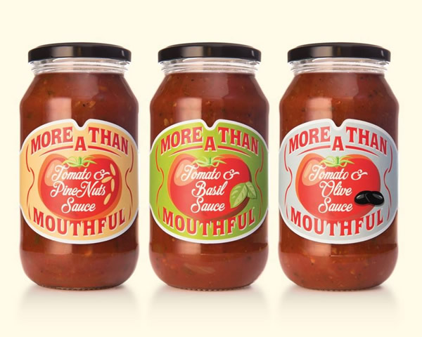 Sauce Labels - More than a Mouthful