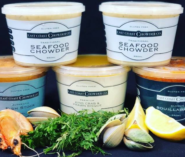 Seafood Chowder Co. Labels