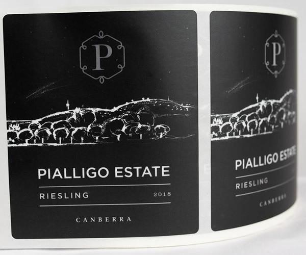 Wine Bottle Labels - Pialligo Estate